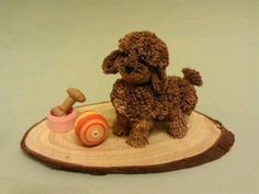 cute poodle by Yvonne Li of Hong Kong