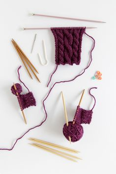 Cable Knitting instructional videos
