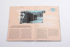 OUT OF THE BOX – festival magazine on Editorial Design Served