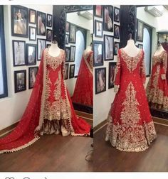 Beutifull bridal lahnga in red golden color Model# B 907 – Nameera by Farooq Pakistani Wedding Outfits, Bridal Outfits, Pakistani Dresses, Indian Dresses, Indian Suits, Bridal Mehndi Dresses, Beautiful Bridal Dresses, Bridal Gowns, Beautiful Outfits
