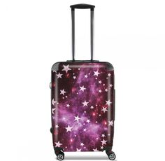 Valise All Stars Red cabine trolley personnalisée by Monika Strigel  95 €  #trolley #cabinetrolley #koffer #handgepäck #reisekoffer #kabinenkoffer #girlsontour #luggage #baggage #rolls #rollenkoffer