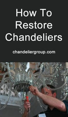 Chandelier makeover provided by Chandelier Group. Specialists for the restoration, cleaning and sales of chandeliers, specialist lamps and components. Restoration Services, Lol, Restore, Chandeliers, Water Bottle, Home Decor, Transitional Chandeliers, Decoration Home, Room Decor