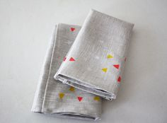 geo napkins by linea carta