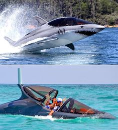 Is It A Fighter Jet, Is It A Shark? Nope, It's A Seabreacher, The Ultimate Watercraft - ThrottleXtreme Power Boats, Speed Boats, Jet Ski, Fighter Aircraft, Fighter Jets, Underwater Room, Badass Jeep, Float Your Boat, Cool Boats