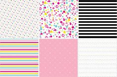 Barbie Party Paper Patterns by HWTM
