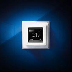 dokunmatik ekranlı karbon folyo ısıtma için termostat