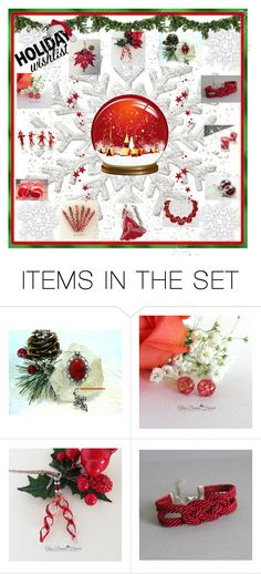 """""""Holiday Wish List"""" by glassdreamshawaii ❤ liked on Polyvore featuring art and vintage"""