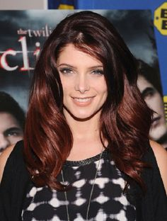 red hair color for dark hair highlights | Hairstyles | short ...