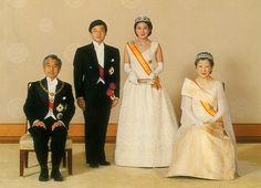 Their Imperial Majesties Emperor and Empress of Japan. His Imperial Highness the Crown Prince and   Her Imperial Highness the Crown Princess. 1993.