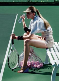 Is tennis the ultimate body-sculpting workout?