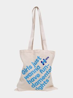 Fun-damental Rights Tote: Grab this fun tote bag—and join the fight for women's fun-damental rights wherever you go.