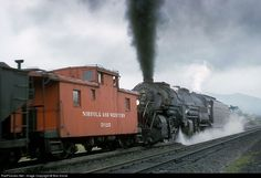 RailPictures.Net Photo: NW 2167 Norfolk & Western Steam 2-8-8-2 at Webster, Virginia by Bob Krone