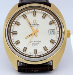 0be6764b5b5 39 mm  Omega  Seamaster  Cosmic 2000 Cal 1012  Vintage  Mens