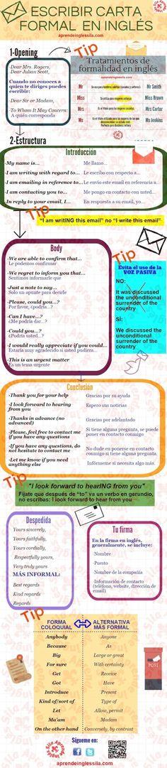 10 Carta Formal Ideas Learning Spanish Learn English Teaching Spanish