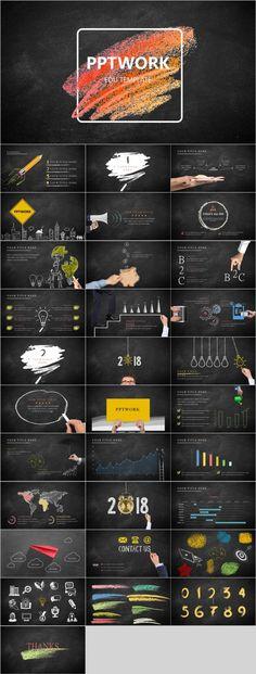 Edu PowerPoint template - Alexandra Mennes - Design Ppt Design, Keynote Design, Powerpoint Presentation Templates, Food Design, Design Art, Ppt Slide Design, Booklet Design, Design Layouts, Graphic Design