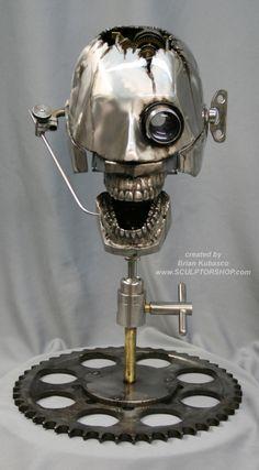 steampunk sculpture | Museum Oddities