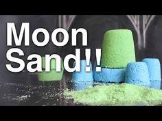 How to make Moon Sand ( Kinetic Sand )