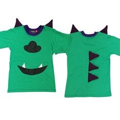 Camisa Fantasia - Monstrinho Sully Verde
