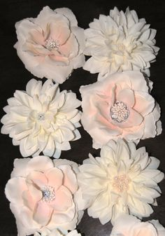 Handcrafted Bridal Hair Pieces