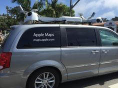 Apple Maps Van in Santa Barbara - Santa Barbara News - Edhat