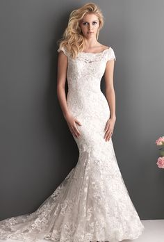 Classic. Conservative. Gorgeous. My wedding gown.