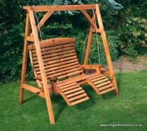 I love the idea of a Swing Seat in the garden!