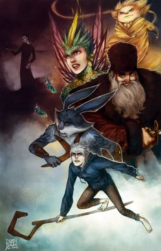 Rise of the Guardians by ~DustyLeaves on deviantART