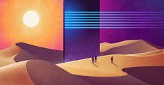 NeoWave - I paesaggi retro fantascientifici di James White | Collater.al