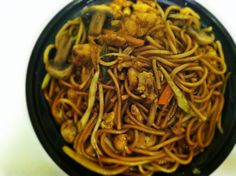 Shanghai River Restaurant's Chicken Lo Mein  #Houston #Texas #Food #ChineseTakeout #AdventuresInANewishCity