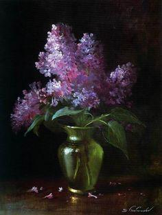 """Résultat de recherche d'images pour """"peintre toutounov vase lilas"""""""