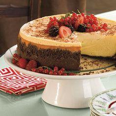 Brandy Alexander Cheesecake and other Splurge-Worthy Thanksgiving Desserts Brownie Desserts, Oreo Dessert, Mini Desserts, Cheesecake Desserts, Just Desserts, Delicious Desserts, Dessert Recipes, Dessert Food, Holiday Desserts