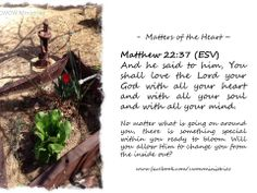 May 2014 - Matters of the Heart - Scriptures #cwowministries