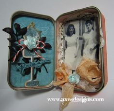 Decorating Tins (this is an Altoid tin box)