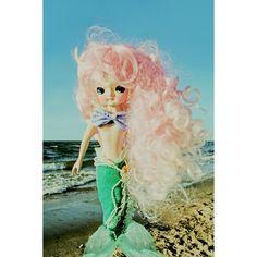 Etsy の mermaid print 5 x 7 FANTA SEA GIRL by boopsiedaisy