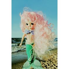 Etsy の mermaid print 5 x 7 FANTA SEA GIRL by boopsiedaisy