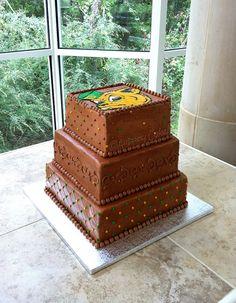 Baylor Bear Grooms Cake