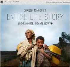 charity: water - getting it right online. Their cause is a great one and their website is nicely done.