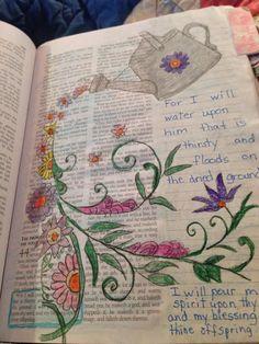 Bible journaling is 44 3 Bible Study Journal, Scripture Study, Bible Art, Art Journaling, Scripture Journal, Prayer Journals, Bible Drawing, Bible Doodling, Bible Prayers