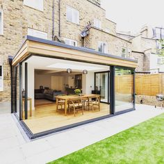 A gorgeous extension we did in Shepherd's Bush for a family who wanted to take lateral living to the next level •••••••••••••••••••••••••••••••••••• #lateral #living #shepherdsbush #interior #exterior #summerscoming #space #photooftheday #londoninteriors #londondesign #construction #orchestrate #orchestrateltd #extension #extend #glassdoor #glass #bright #stonefloor #woodenfloor #extendtoday #londonconstruct #constructionlondon #design #photooftheday #battersea