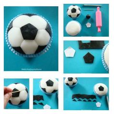 I made this cupcake for my daughters name day as a treat for the boys in her class. Making it was quite easy so I shared the tutorial on my blog, which is in greek! Here I just show you the steps! Hope you like it...