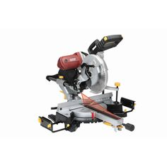 Double Bevel Sliding Compound Miter Saw With Laser Guide System Cheap Power Harbor Freight Tools