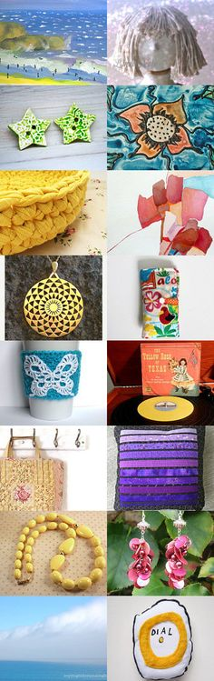 The Colors Of Summer by Meredith on Etsy--Pinned+with+TreasuryPin.com