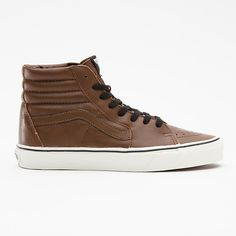 Product: Aged Leather Sk8-Hi