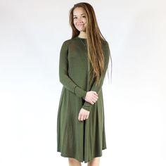 Dress - Olive