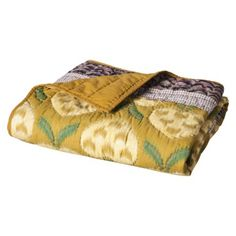 Threshold™ Yellow Multi Print Throw $34.99 {guest room}