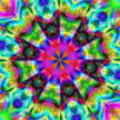 https://flic.kr/p/4D8ZQ7 | Satin Kaleidscope | Kaleidoscope created from a random pattern I created in GIMP 2.4