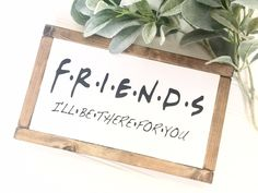 Friends by simplydesignbyapril on Etsy