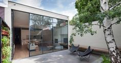 This Australian Victorian Cottage Was Updated With A Contemporary Interior And Courtyard Photography by Shannon McGrath Architecture firm Robson Rak together with interior design firm Made by Cohen have designed the nbsp hellip Victorian Cottage, Victorian Homes, Edwardian Haus, Indoor Outdoor, Outdoor Spaces, Australian Homes, Minimalist Interior, Interior Design Studio, Architect Design
