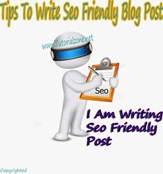 How to and Why Write SEO Posts - soumensiddhanta dot com