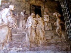 Florencia -  Claustro de los Descalzos.